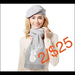 🎁🎁Charter Club 2-pc. Scarf & Hat Gift Set 🎁🎁🎁